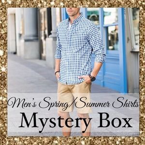 Other - MENS SPRING/SUMMER SHIRTS MYSTERY BOX (5 PIECES)